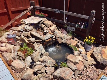 Water Fall. Nothing brings serenity to your outdoor sitting area like a water fall! Get creative with building the perfect eye-catcher for that corner of the yard that's unappealing or a waste of space.